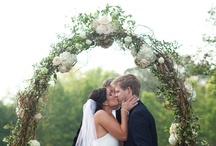 Spring Weddings / An abundance of flowers in every color imaginable