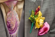 Boutonnieres / Let's hear it for the boys!