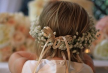 Flower Girl/ Ring Bearer / They're going to steal the show any way, might as well have them carrying something cute!