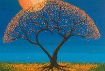 Art I Love / Love bold colors of art, tree art, bohemian art. / by Malissa Zimmerman