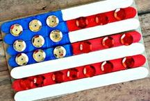Fourth of July / Our collection of favorite things that are red, white and blue!