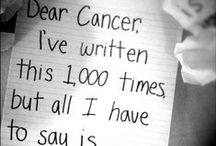 Dear Cancer Letters / Send Cancer a message, literally. Get your feelings off your chest and support from your community. Join http://www.ihadcancer.com and tell cancer how you really feel