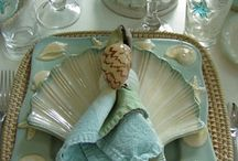 TableScapes / I love a beautiful table setting, here are my favorites! / by Laurie Cable Olsson