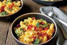 Pasta is versatile!