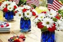 4th of July / Celebrate the 4th of July here with all things red, white, and blue.  / by Jennifer {Fab Fatale}