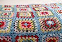 Crochet: Granny Squares / And granny hexies, granny triangles