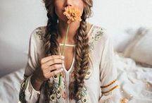 Romantic Boho Style / The styles that speak to my heart