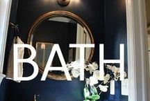 bathroom renovation inspiration / by Amber Rhodes-Lapoint