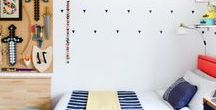 Design // B's New Room / Decor ideas, furniture and accessories for my son's bedroom.