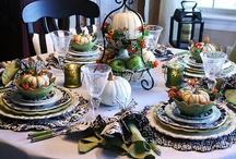 Decorating the Table / Eat well, live happy. Mangia. / by Bernadette Calemmo Sanborn