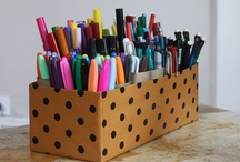 Let's Get Organized / Simple and creative ways to organize homeschool for spaces of all sizes.