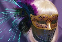 Team Rainbow Designs / Glowing accessories for sale by Team Rainbow Designs. www.teamrainbowdesigns.com #accessories #headbands #masks #masquerade / by Team Rainbow Designs