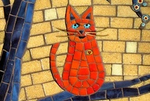 Stained Glass & Mosiacs / Oh the glorious colors.......oh the hard work!!!!!!! / by Judith Hindall