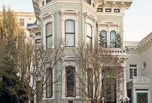 SF Living / Victorian Urban Swank Interior Design / by Melinda Laudy