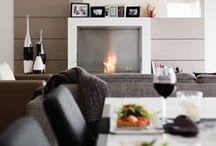 Dining Room Fireplace Ideas