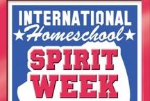 International Homeschool Spirit Week / Always the 4th week in September. CurrClick.com, the official host of International Homeschool Spirit Week.  / by CurrClick