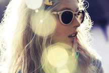 ) sunglasses ( / Who says that you need the sun to wear them ;)