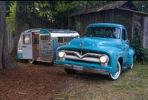 Vintage Campers of All Shapes and Sizes / by Jeremy George
