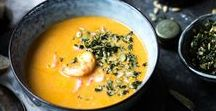 Soup recipes / A large variety of healthy soup recipes that are uncomplicated and easy to make.