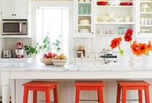 Kitchen / Kitchen inspiration from decor, kitchen counters, cabinets, paint, and more!