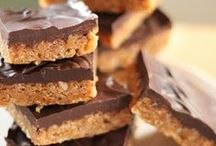 Bar recipes / Healthy, nutritious and easy bar recipes. Some can even be consumed for breakfast.