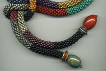 Kumihimo / Jewelry, Kumihimo, Japanese Braiding, Necklaces, Yarns, Ribbons / by Gloria Borrero