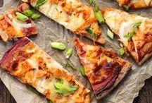 Pizza recipes / Pizza recipes. Some are whole wheat pizza recipes and vegetarian pizza recipes.