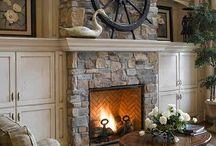 Fireplaces / by Bernadette Calemmo Sanborn