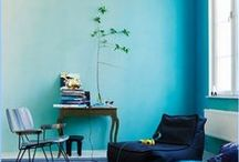 Color Inspirations / A collection of beautifully painted walls.