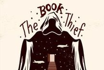 Thievery of Books. / The Book Thief! Love it so much! / by Annee Jenks