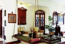 Traditional Indian Homes / A collection of Indian homes and Indian decor.