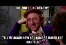 You can say that again / Its our version of a mashup, famous quotes about Marines and some good imagery.