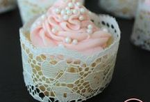 Love and Lace Bridal Shower / #bridalshower lace bridal shower, mint and pinks bridal shower / by Cherry Bomb Events