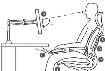Ergo Tips / Defined as the science of fitting a workplace to the user's needs, ergonomics aims to increase efficiency and productivity and reduce discomfort.