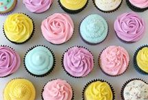 Cakes / I love to look at cakes, I think they are an art form. I've been obsessed with them since Reading Rainbow did an episode at a cake bakery.  / by Caroline McKean