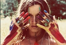 ◀--- Boho Gypsy Love ---▶ / 'Certain things catch the eye, but pursue only those that capture the heart.' / by Katie Moore