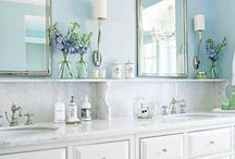 Bath & Closet Ideas / I am officially house-hunting and have found a home that may be mine (well ours) soon. And the master bedroom needs a closet redo and a bathroom added to it. So I am looking for functional bathroom layouts and very space efficient closets.