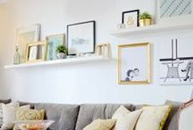 Gallery Wall & Decorations / Walls without art are naked.  / by Caroline McKean