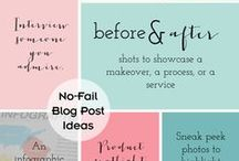 Blogging & Writing / by Caroline McKean