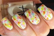Nail Art from Ten Colorful Nails
