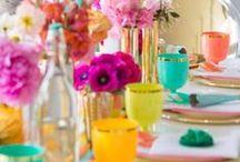 Spikes and Brights Wedding / #neonwedding #goldandneon #aztecwedding / by Cherry Bomb Events