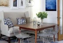 a place to eat / Dining room inspiration. / by Wynn D.