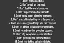 Self Love & Positivity / Self love, positivity, self care tips.