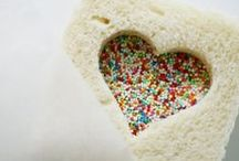 i heart you  / Heart shaped food, crafts and activities