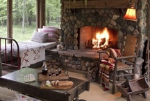 Rustic Chic Living / by Homes & Living