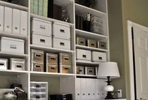 Be organized /  Being organized has to be a way of life