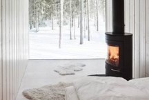 Fireplaces / by Homes & Living