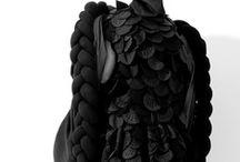 Haute couture / Fashion illustration / Material / detail / technique / cut