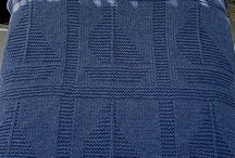 knit blankets. / Knitting blankets / by Del