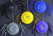 halloween for littles / halloween crafts, decorations and ideas for preschool aged kids.